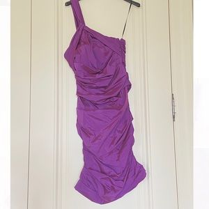 Iridescent cocktail dress by Theia Couture size 6